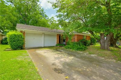 Garland Single Family Home Active Option Contract: 2422 Nottingham Drive