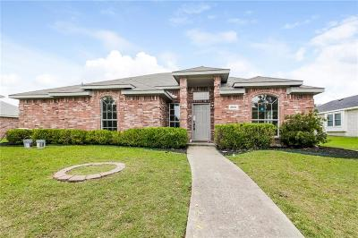 Sachse Single Family Home For Sale: 3902 Hudson Drive