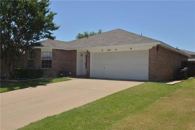Fort Worth Single Family Home For Sale: 8717 Limestone Drive