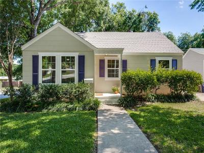 Arlington Heights Single Family Home Active Option Contract: 3801 Collinwood Avenue