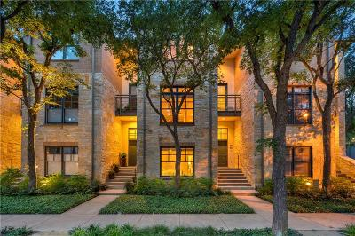 Dallas Condo For Sale: 4343 Buena Vista Street #3