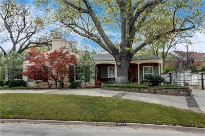 Tarrant County Single Family Home For Sale: 3821 Crestwood Terrace