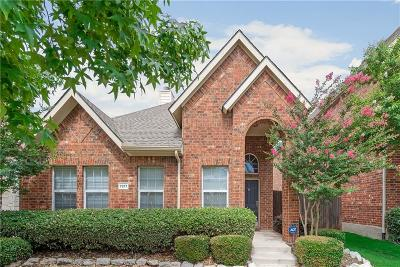 Frisco Single Family Home Active Option Contract: 7977 Southmark Drive