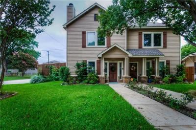 Arlington Heights Townhouse For Sale: 4801 Birchman Avenue