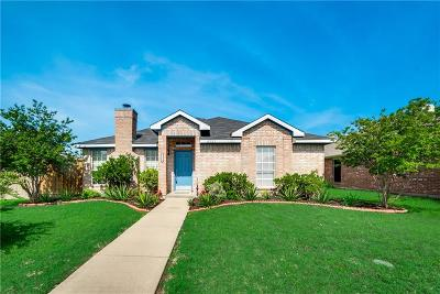 Sachse Single Family Home Active Option Contract: 6923 Todd Lane