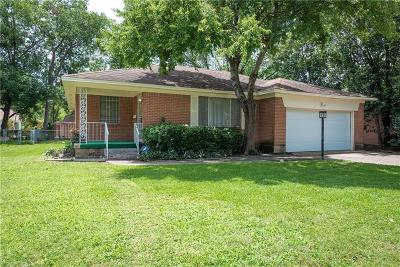 Dallas Single Family Home For Sale: 7112 Clearcrest Drive
