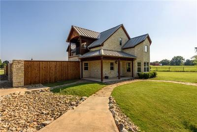 Cross Roads Single Family Home For Sale: 1601 Tipps Road
