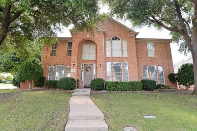 Lewisville Single Family Home For Sale: 401 Vista Noche Drive
