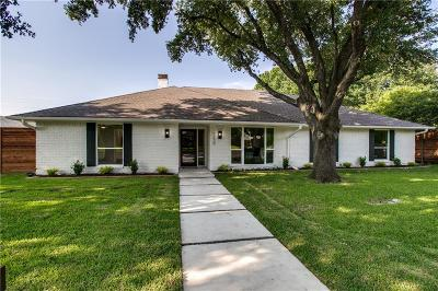 Dallas Single Family Home For Sale: 7230 Crooked Oak Drive