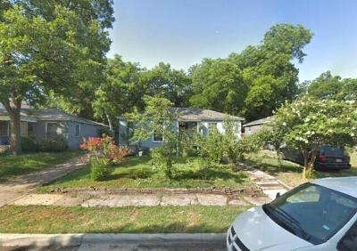 Dallas Single Family Home For Sale: 2607 Calvin Street