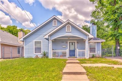 Dallas TX Single Family Home For Sale: $145,000