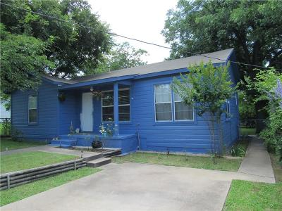Weatherford Single Family Home Active Option Contract: 212 E 6th Street