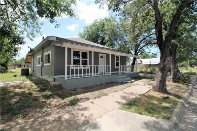 Brownwood Single Family Home Active Option Contract: 1611 2nd Street