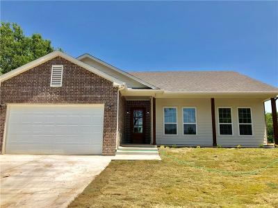 Cleburne Single Family Home Active Contingent: 3504 Dove Creek