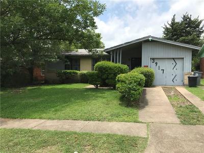 Dallas County Half Duplex For Sale: 3917 Vanette Lane