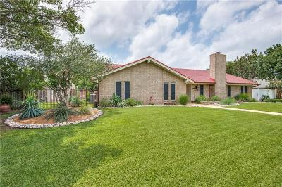 Irving Single Family Home Active Option Contract: 3101 Gentry Road