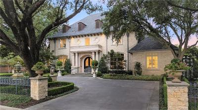 Preston Hollow Single Family Home For Sale: 6507 Lakehurst