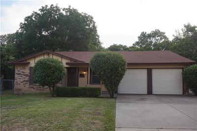 Haltom City Residential Lease For Lease: 3313 Earle Drive