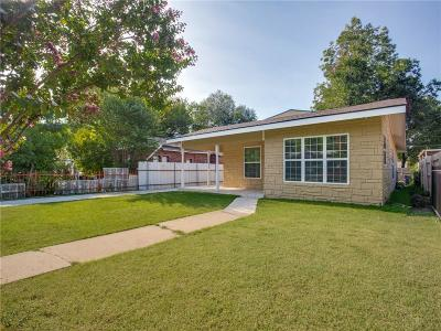 Fort Worth Single Family Home For Sale: 1029 Woodland Avenue