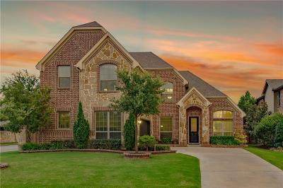 Keller Single Family Home Active Option Contract: 1833 Lewis Crossing Drive