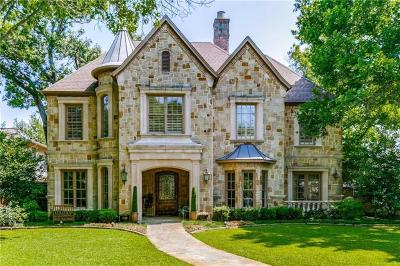 Dallas County Single Family Home For Sale: 4013 Marquette Street
