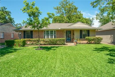 Dallas County Single Family Home For Sale: 7325 Rockhurst Drive