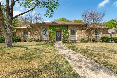 Richardson Single Family Home Active Option Contract: 1409 Concord Drive
