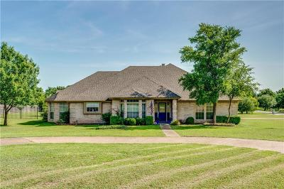 Aledo Single Family Home Active Option Contract: 1509 McDavid Drive