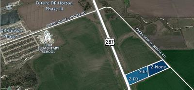 Waxahachie Commercial Lots & Land For Sale: 0000 N Hwy 287 Highway