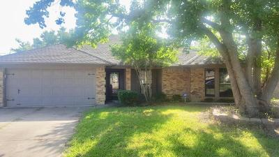 Mansfield Single Family Home For Sale: 1538 Stratford Drive