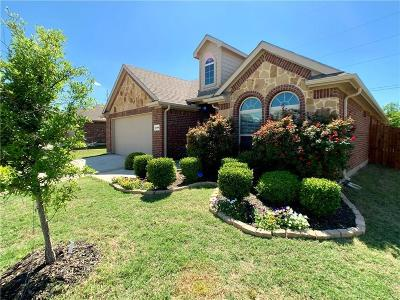 Waxahachie Single Family Home Active Option Contract: 2189 Liriope Lane