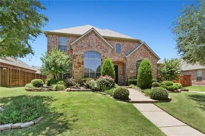 Denton County Single Family Home Active Option Contract: 11441 Apple Valley Drive