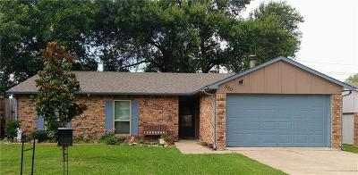 Allen Single Family Home For Sale: 530 E Ridgemont Drive