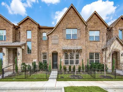 Frisco Townhouse For Sale: 6248 Rainbow Valley Place