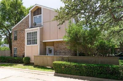 Irving Townhouse For Sale: 2400 Northlake Court