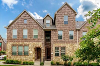 Denton County Townhouse For Sale: 4416 Fisk Lane