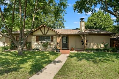 Plano Single Family Home Active Option Contract: 1417 Sherrye Drive