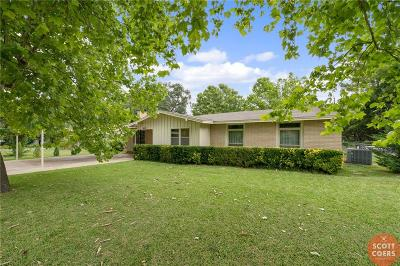 Brownwood Single Family Home Active Option Contract: 4010 Austin Avenue