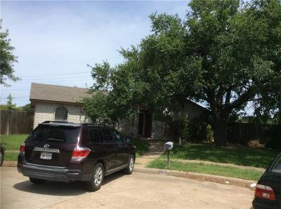 Grand Prairie Single Family Home For Sale: 1818 Independence Court