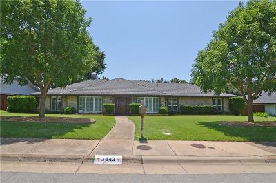 Dallas Single Family Home For Sale: 3842 Peter Pan Drive