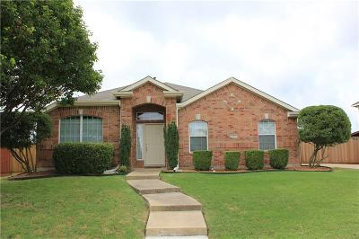 Sachse Single Family Home Active Option Contract: 2109 Quail Hollow Drive