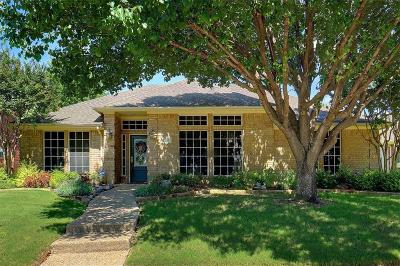 Coppell Single Family Home Active Option Contract: 526 Gifford Drive