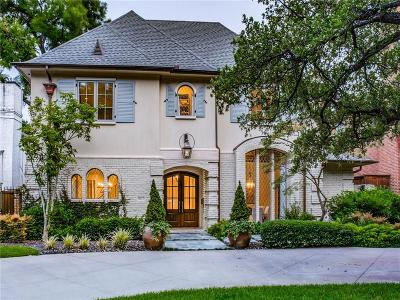 Dallas County Single Family Home For Sale: 3917 Hanover Street