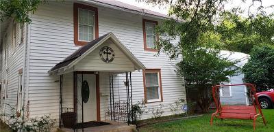 Kaufman Single Family Home For Sale: 506 N Washington Street