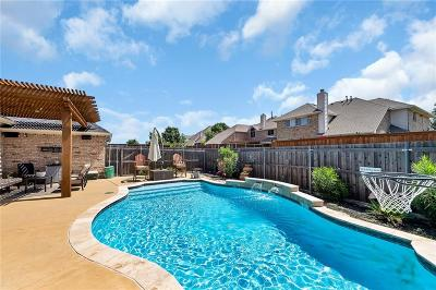 Frisco Single Family Home Active Contingent: 8428 Shakespeare Lane