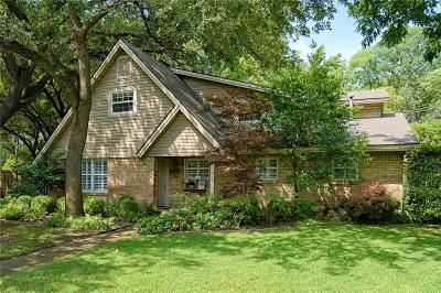 Dallas County Single Family Home For Sale: 9721 Robin Hill Circle
