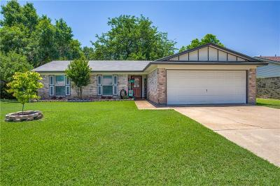 Benbrook Single Family Home Active Option Contract: 1108 Augusta Road