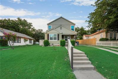 Arlington Heights Single Family Home For Sale: 4816 Birchman Avenue