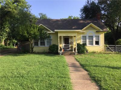 Richardson Single Family Home For Sale: 312 Huffhines Street