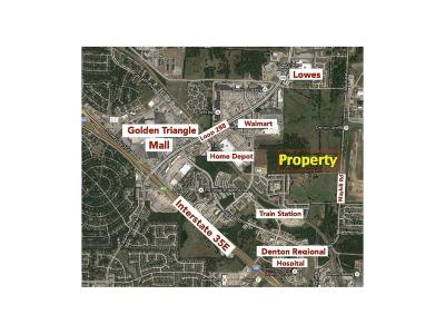 Denton Commercial Lots & Land For Sale: 1900 S Mayhill Road